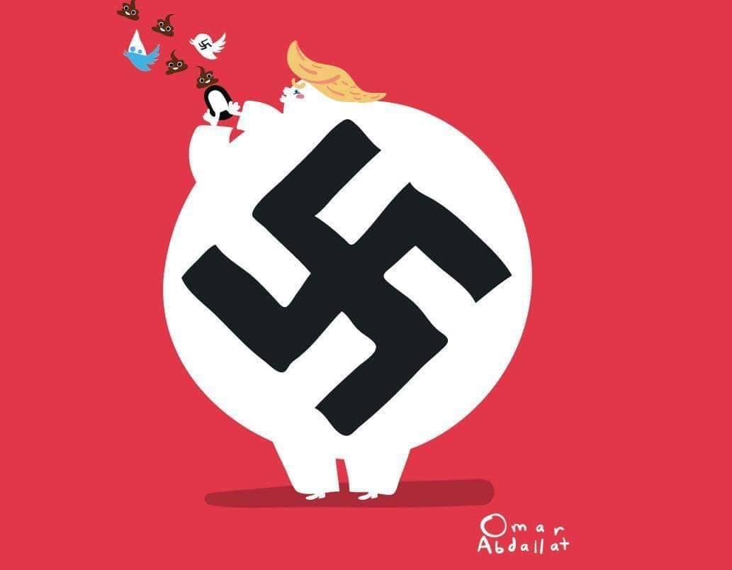 الكاريكاتير الذي حظره فيسبوك