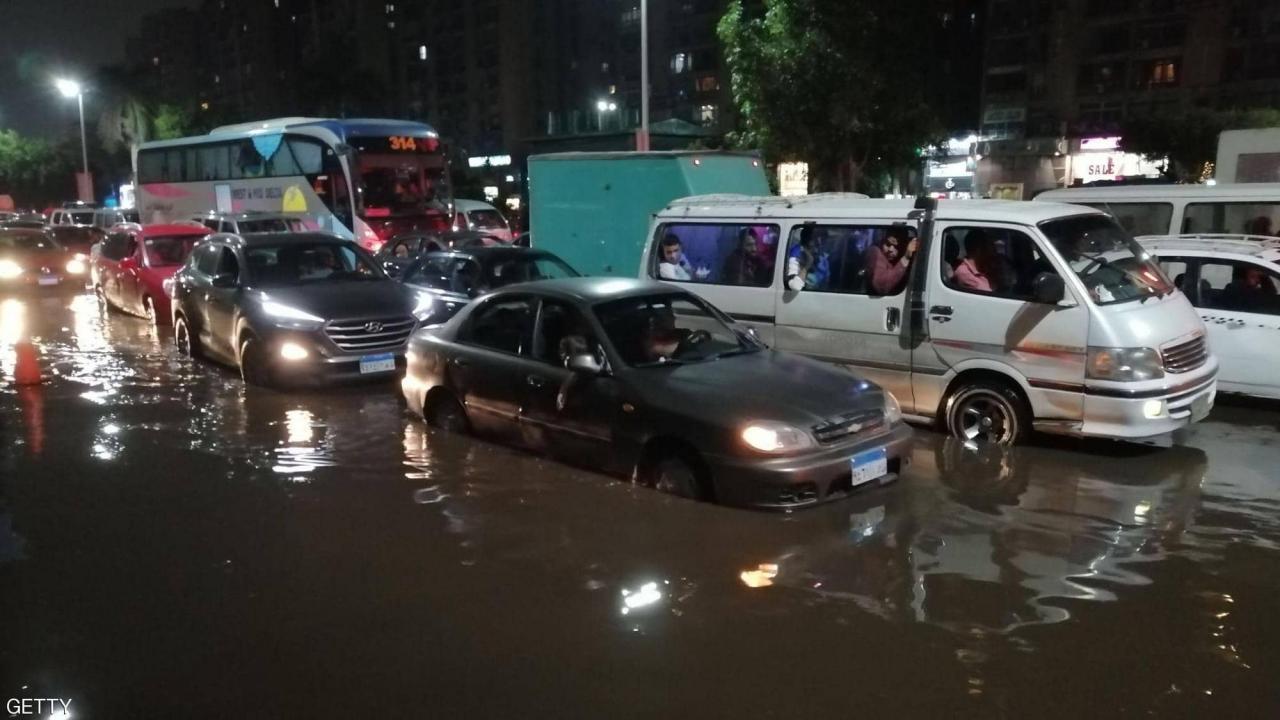 تعطيل الدراسة بالمدارس والجامعات الأربعاء لسوء الأحوال الجوية في مصر